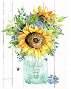 Artist Jean Plout Debuts New You Are My Sunshine B Art
