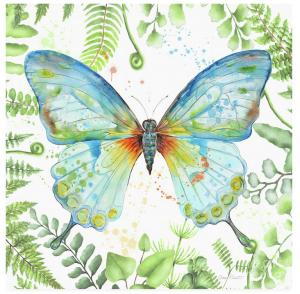 Artist Jean Plout Debuts New Botanical Butterfly Beauty Collection